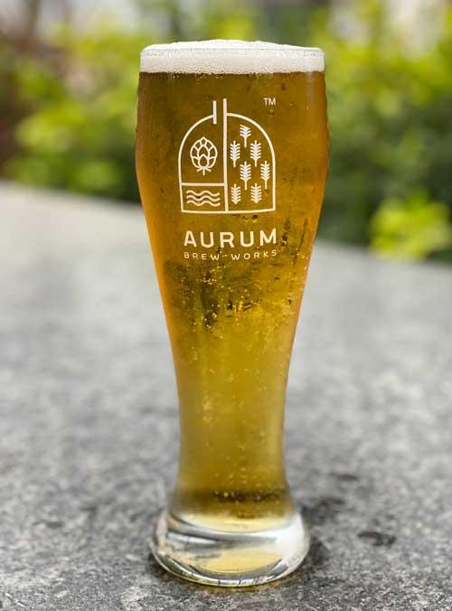 Rice Lager, Aurum Brew Works