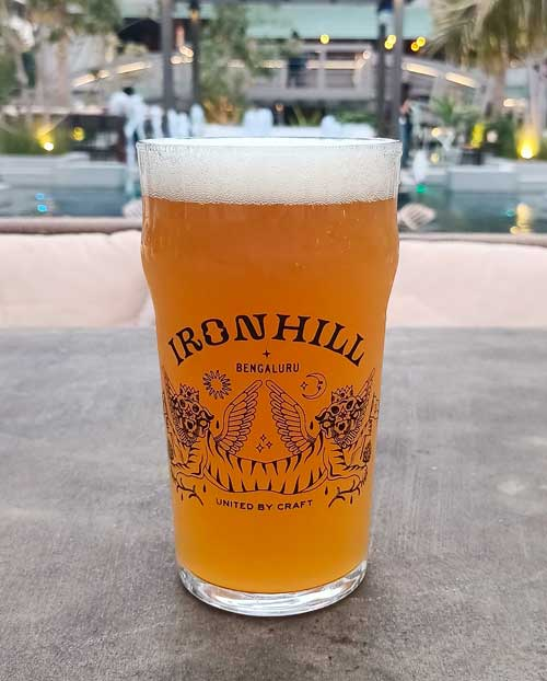 India Pale Lager at Ironhill, Bangalore